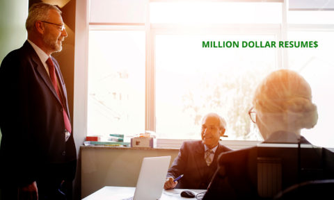Million Dollar Resumes is the New Source for Senior Executives