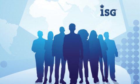 ISG Insights Study Finds HR Underrepresented in Strategic Workplace Transformation Talks