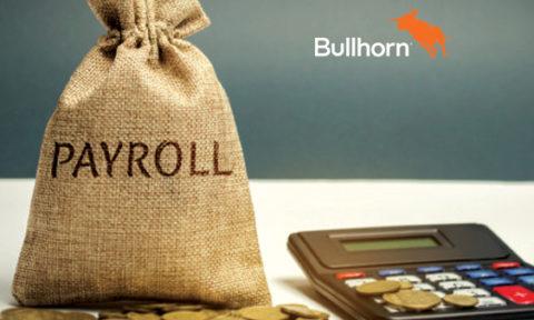 Bullhorn Announces Bullhorn One Commercial Edition with Integrated Payroll