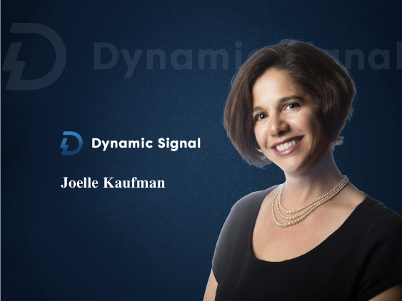 TecHR Interview with Joelle Kaufman, CMO and Chief Revenue Officer at Dynamic Signal