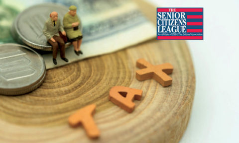 """Tax on Social Security Benefits of """"Wealthy"""" Retirees Now Affects Half of All Retiree Households, Says Survey From The Senior Citizens League"""