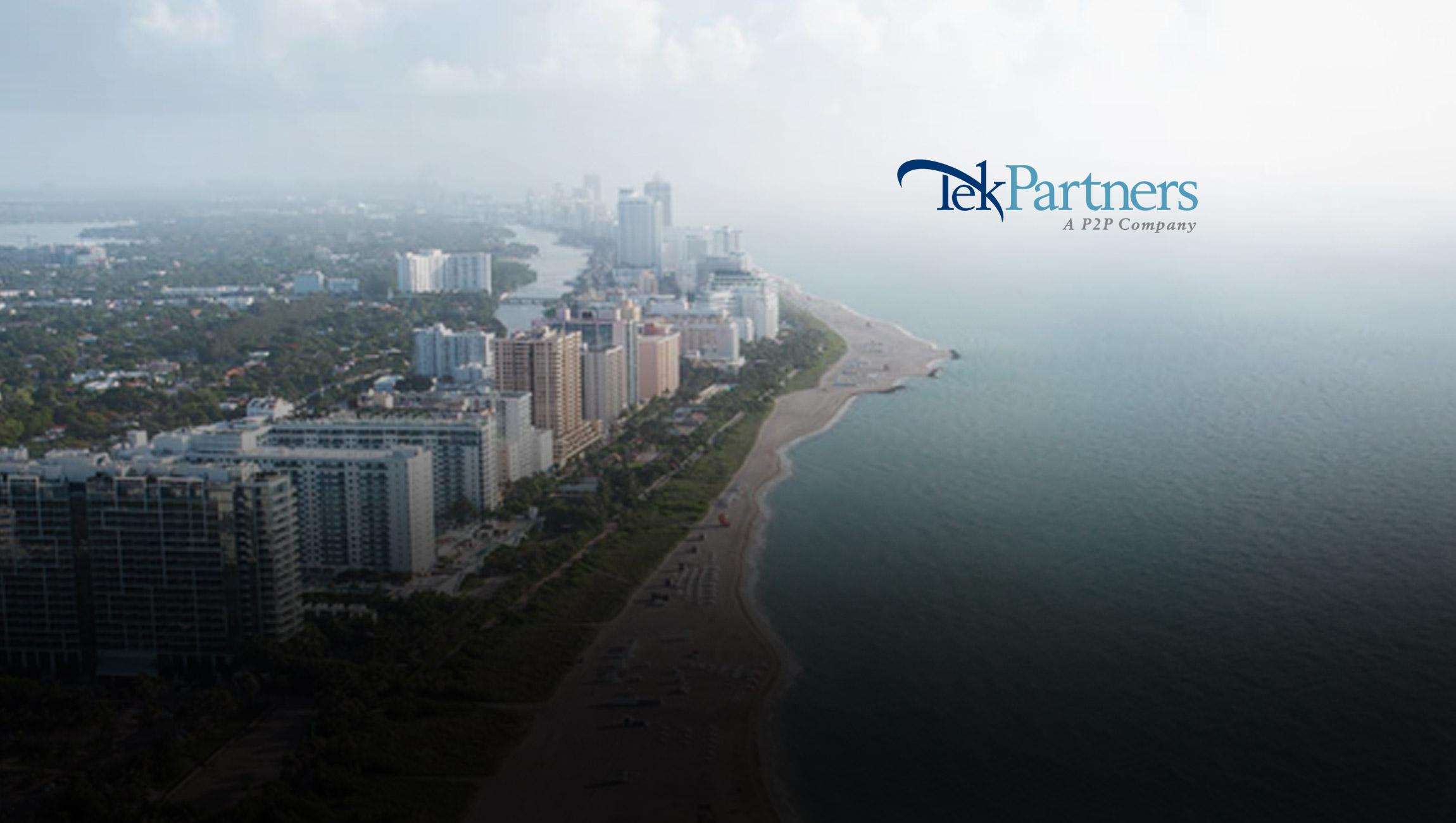 TekPartners, a P2P Company, Opens New Miami Location